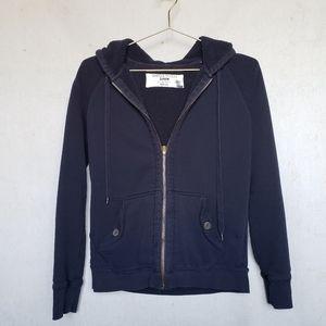 J. Crew sherpa fleece lined hoodie sweatshirt